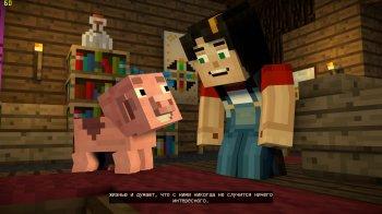 Minecraft: Story Mode - Season Two. Episode 1-5 (2017) PC   RePack от xatab