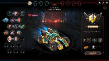 Heavy Metal Machines [b.0.0.0.501] (2017) PC   Online-only