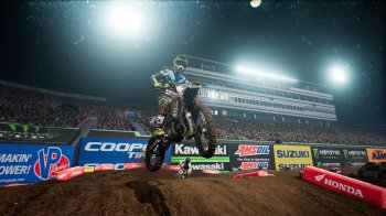 Monster Energy Supercross - The Official Videogame (2018) PC | Лицензия