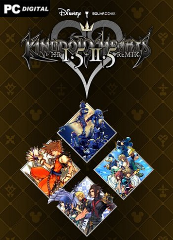 KINGDOM HEARTS HD 1.5+2.5 ReMIX на пк
