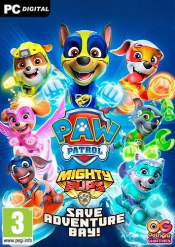 PAW Patrol Mighty Pups Save Adventure Bay
